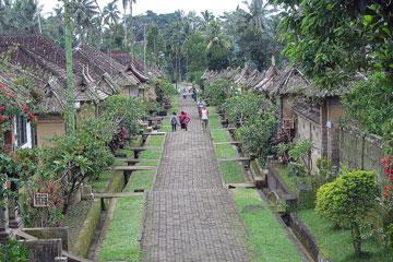 Penglipuran ősi falu