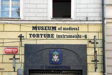 Középkori kínzóeszközök múzeuma