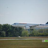 Freebird, Antalya - Budapet repülőjárat ( repülőgép típus: Airbus A320-232, felségjel: TC-FBV)