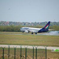 Malév, Helsinki - Budapet repülőjárat ( repülőgép típus: Boeing 737-7Q8, felségjel: HA-LOB)