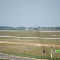 Austrian Airlines, Budapes - Bécs repülőjárat ( repülőgép típus: De Havilland Canada DHC-8-315, felségjel: OE-LGI)