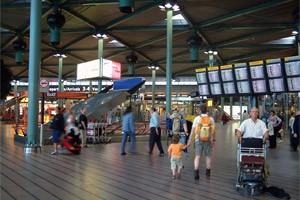 Amszterdam Schiphol Repülőtér (AMS)