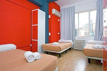 Madrid hostel