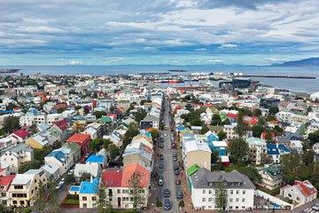 Reykjavik repülőjegy